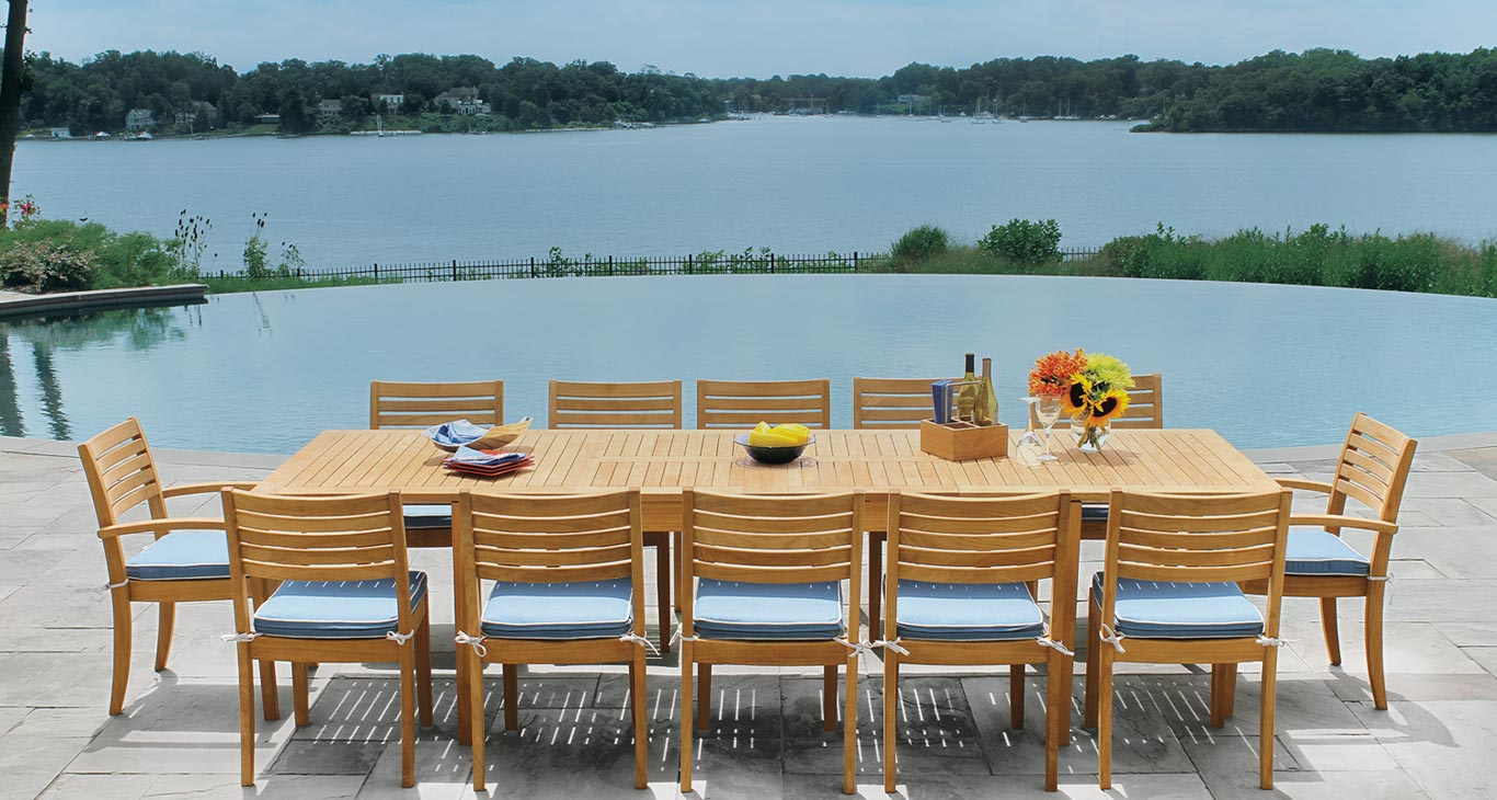 Houstons premier source for teak outdoor furniture